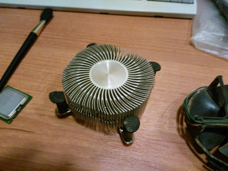Чистка системы охлаждения процессора компьютера