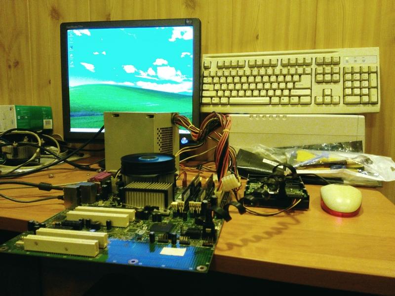 Чистка охлаждения процессора компьютера в Хабаровске